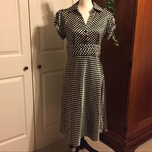 Dresses & Skirts - Polka dotted dress size 14
